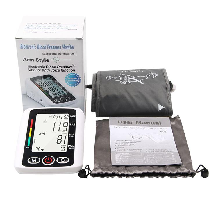 ضغط الدم الذراع مراقب XBP-A02